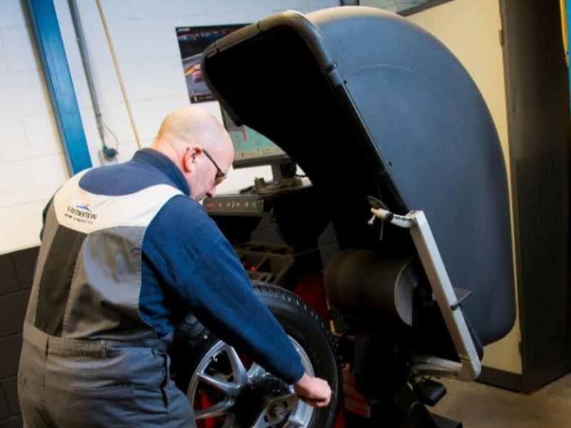 autobandencheck professionele montage inclusief balanceren