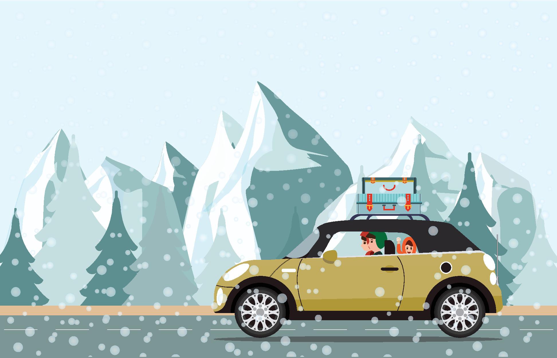 Wintersport: waar en wanneer zijn winterbanden verplicht?